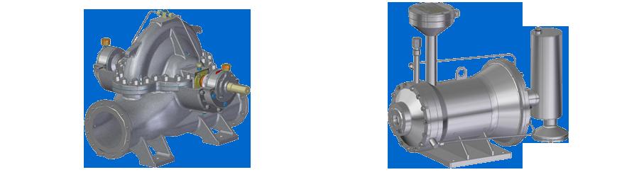 Насосы специальные типа БЭН, ГЭН (герметичные)